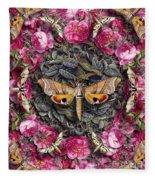 Forms Of Nature #17 Fleece Blanket
