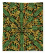 Forms Of Nature #18 Fleece Blanket