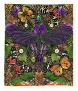 Forms Of Nature #3 Fleece Blanket