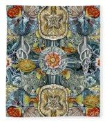 Forms Of Nature #6 Fleece Blanket