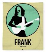 Frank Zappa Fleece Blanket