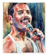 Freddie Mercury Live Aid Fleece Blanket