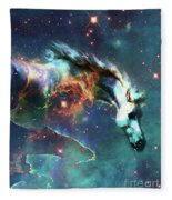 Free Of The Carousel II Fleece Blanket
