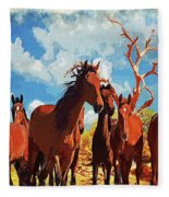 Free Spirits Fleece Blanket