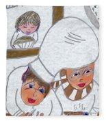 French Chefs Fleece Blanket