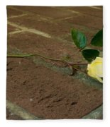 Friendship Rose Fleece Blanket