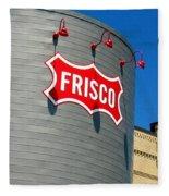 Frisco Museum  Fleece Blanket