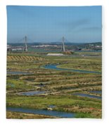 From Algarve To Andalusia Fleece Blanket