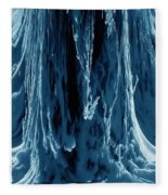 Frozen Falls Fleece Blanket