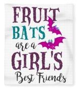 Fruit Bat Conservation Halloween Flying Fox Women Light Fleece Blanket