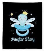 Fun Pacifier Fairy Boys To Give Up Pacifiers Fleece Blanket