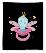 Fun Pacifier Fairy Tshirt For Girls To Get Rid Of Pacifiers Fleece Blanket