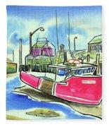 Fundy Tide Hall's Harbour Fleece Blanket