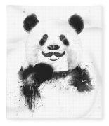 Funny Panda Fleece Blanket