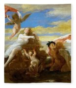Galatea And Polyphemus  Fleece Blanket