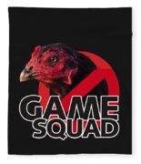 Game Squad Fleece Blanket