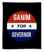 Ganim For Governor 2018 Fleece Blanket