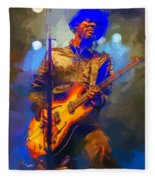 Gary Clark Jr Fleece Blanket