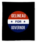 Gelineau For Governor 2018 Fleece Blanket