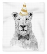 Get The Party Started Fleece Blanket