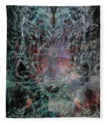 Ghost Galaxy  Fleece Blanket
