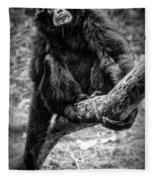 Gibbon Fleece Blanket