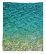 Glacial Depths Fleece Blanket