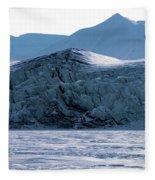 Glacier Cracked Under Pressure Fleece Blanket