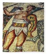 Gladiator Fleece Blanket