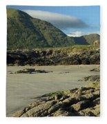 Glassilaun Beach Connemara Fleece Blanket