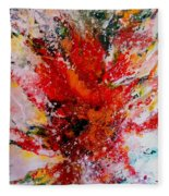 Glory Explosion Fleece Blanket