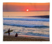 Gold Cup Sunset Fleece Blanket