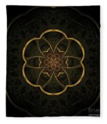 Gold Inlay Fleece Blanket