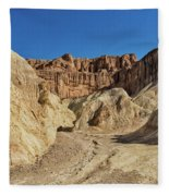 Golden Canyon's Red Cathedral Fleece Blanket