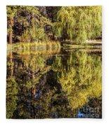 Golden Shevlin Park Fleece Blanket
