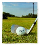 Golf Day Fleece Blanket
