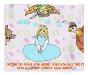 Goody Goody Gumdrop Video Fleece Blanket