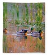 Got My Ducks In A Row Fleece Blanket