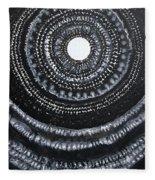 Gothic Waves Original Painting Fleece Blanket