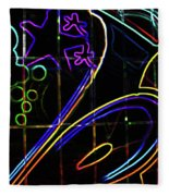 Graffiti 10 Fleece Blanket