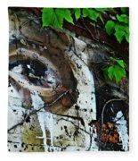 Graffiti On West 107 Street Fleece Blanket