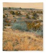 Grassy Ridge Reverie Fleece Blanket