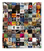 Greatest Rock Albums Of All Time Fleece Blanket