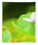 Green Wilderness Fleece Blanket