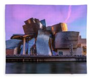Guggenheim Museum - Bilbao, Spain Fleece Blanket