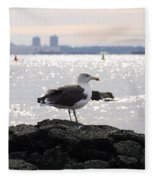 Gull Isle II Fleece Blanket
