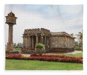 Halebid, Parshvanatha Basadi Fleece Blanket
