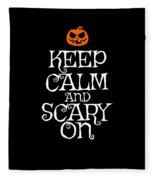 Halloween Costume Funny Apparel Fleece Blanket