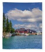 Hall's Harbour 02 Fleece Blanket
