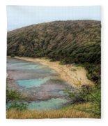 Hanauma Bay Beach Park Fleece Blanket